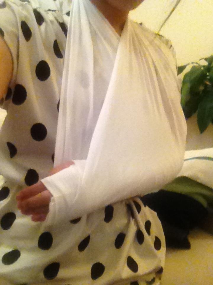 左手首骨折