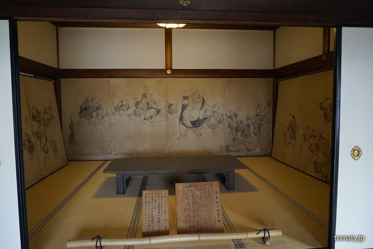智積院の壁画