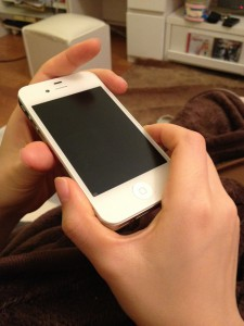 iPhone修理後